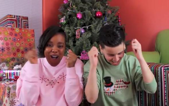 OliviaHs2Moms - Mrs. & Mrs. Christmas Challenge