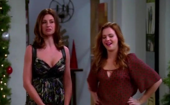 Jenny & Brooke (Two and A Half Men) - Season 11, Episode 10 (Part 1)