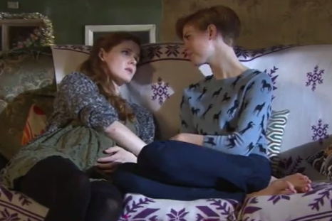 Chloe, Tilly & Esther (Hollyoaks) - 1 January 2013