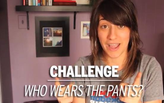 GirlfriendsTV - Lesbian Couple Twerk Challenge