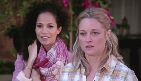 Stef & Lena (The Fosters) - Season 1, Episode 14 (Part 1)