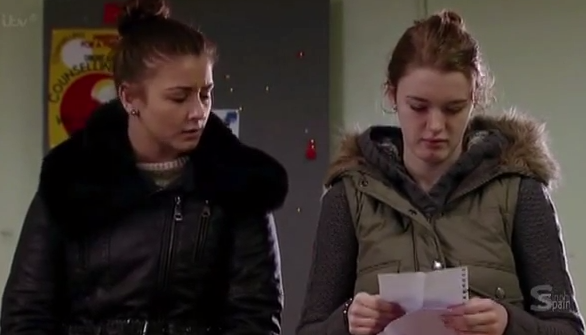 Sophie & Maddie (Coronation Street) - 3 March 2014