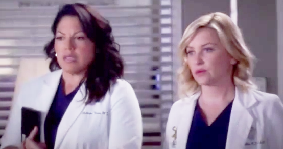 Callie & Arizona (Grey's Anatomy) - Season 10, Episode 15 (Part 2)