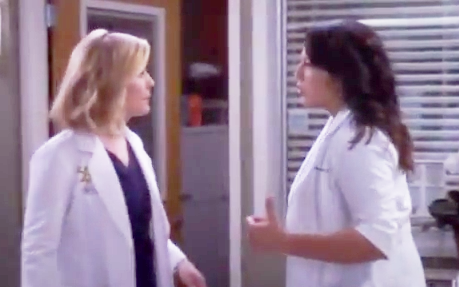 Callie & Arizona (Grey's Anatomy) - Season 10, Episode 15 (Part 3)