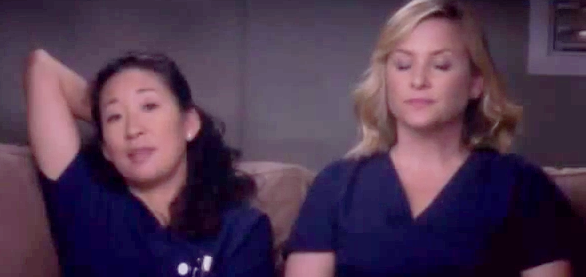 Callie & Arizona (Grey's Anatomy) - Season 10, Episode 15 (Part 4)