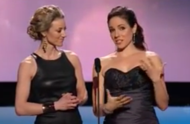 Zoie Palmer comes out at the Canadian Screen Awards