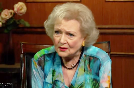 Betty White Tells Larry King She Doesn't Understand Homophobes