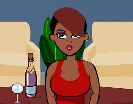 A Gay Ass Cartoon - Chat With A Femme (Part 2)