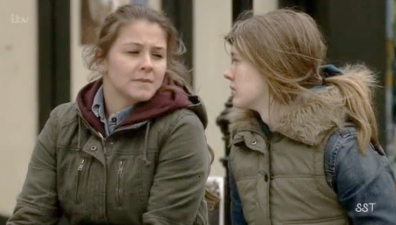 Sophie & Maddie (Coronation Street) - 14 April 2014