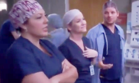 Callie & Arizona (Grey's Anatomy) - Season 10, Episode 18 (Part 1)