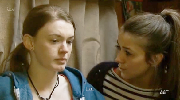 Sophie & Maddie (Coronation Street) - 2 May 2014