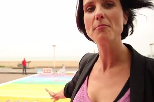 Heather Peace Launches We Can Change with Europe's First Rainbow Crossing