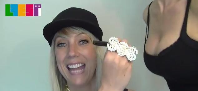 Kiki Archer - L FEST 2014 Indie Authors lip-sync mash-up