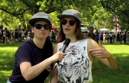 The Gay Women Channel - Baby Dykes At Pride