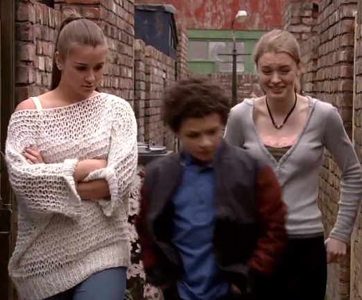 Sophie & Maddie (Coronation Street) - 30 July 2014