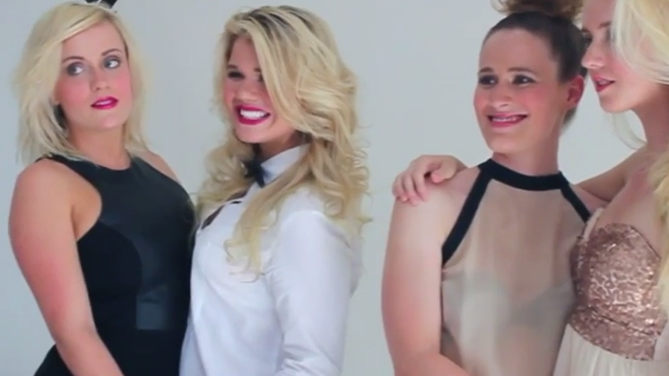 Kaelyn and Lucy - Behind The Scenes of DIVA shoot