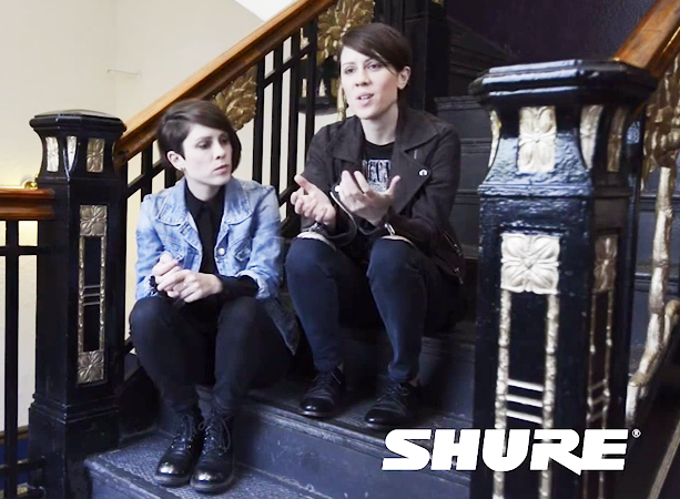 Tegan and Sara - The Shure Interview