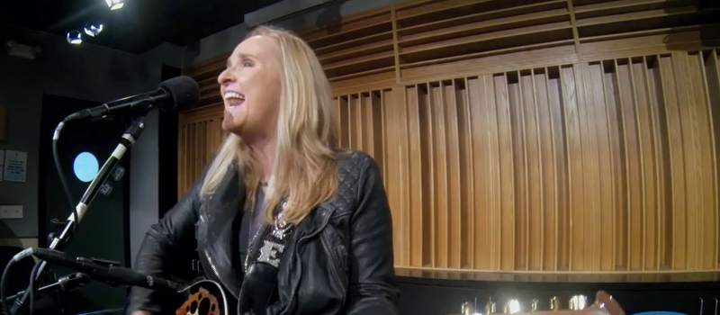 Melissa Etheridge - Just a Little Bit of Me (Live on KFOG Radio)