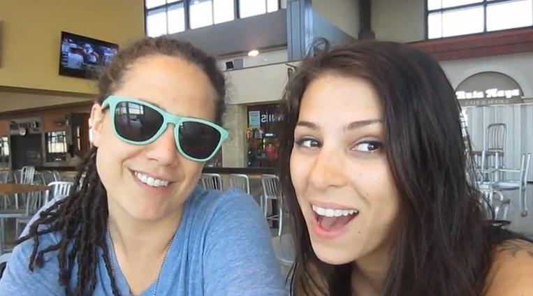 Stevie & Sarah - Why Do Lesbians Love Camping?
