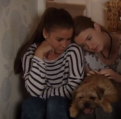 Sophie & Maddie (Coronation Street) - 17 September 2014