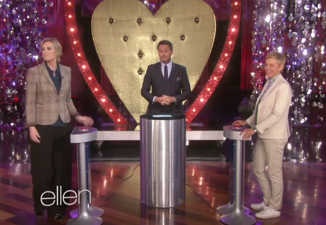 The Ellen Show – Jane Lynch Plays Ellen's New Game!