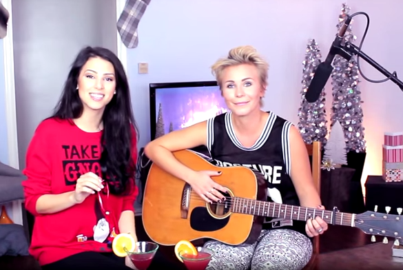 Stevie & Lisa - Lesbian Christmas Song