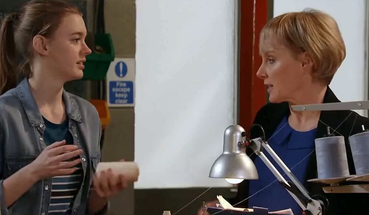 Sophie & Maddie (Coronation Street) - 19 January 2015