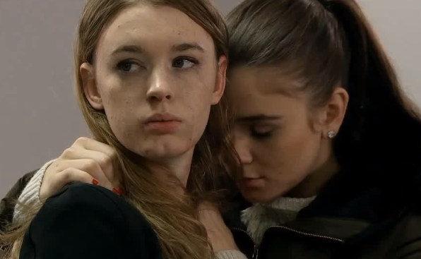 Sophie & Maddie (Coronation Street) - 21 January 2015