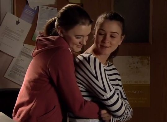 Sophie & Maddie (Coronation Street) - 30 January 2015