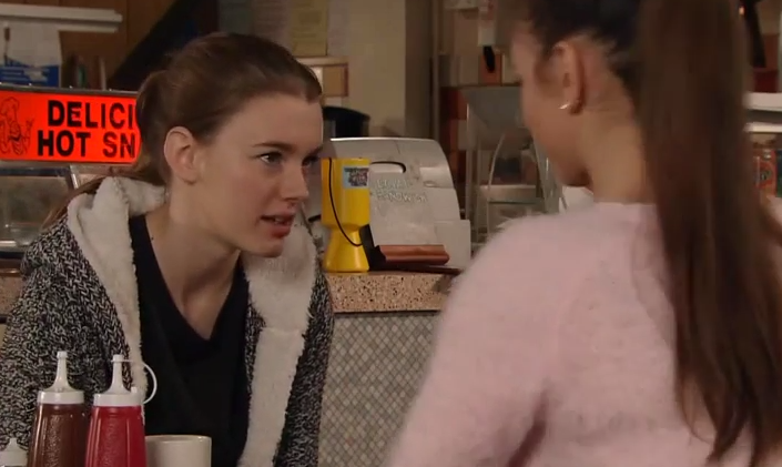 Sophie & Maddie (Coronation Street) - 2 February 2015