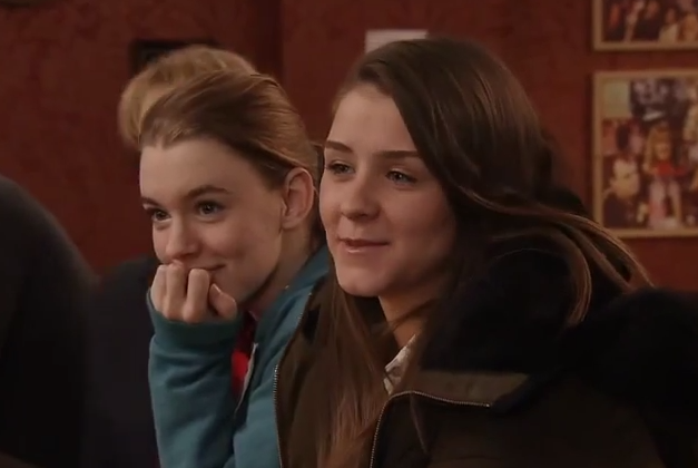 Sophie & Maddie (Coronation Street) - 20 February 2015
