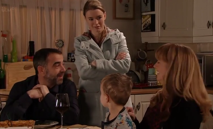 Sophie & Maddie (Coronation Street) - 23 February 2015
