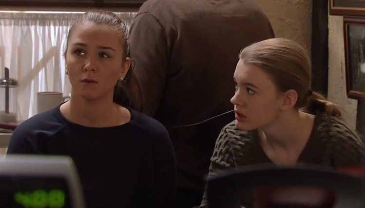 Sophie & Maddie (Coronation Street) - 25 February 2015