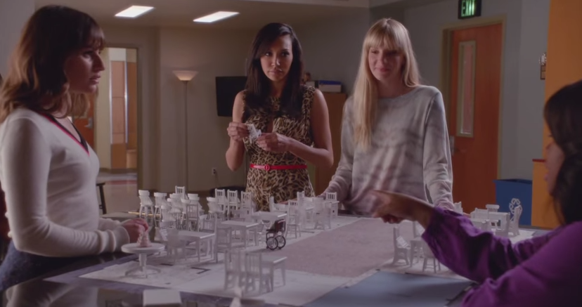 Brittany & Santana (Glee) - Season 6, Episode 8 (Seating Arrangements)