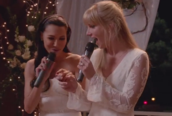 Brittany & Santana (Glee) - Season 6, Episode 8 (Our Day Will Come)