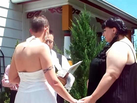 A Lesbian Wedding - Tiffany & Angel