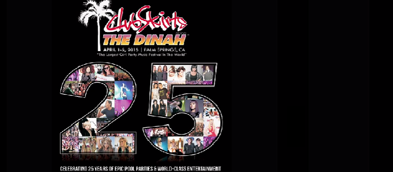 It's Friday at Club Skirts The Dinah 2015