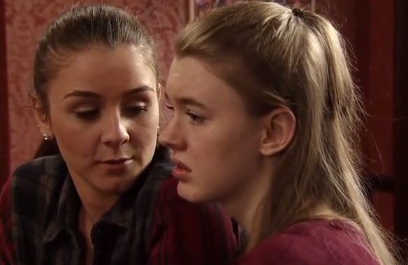 Sophie & Maddie (Coronation Street) – 13 May 2015