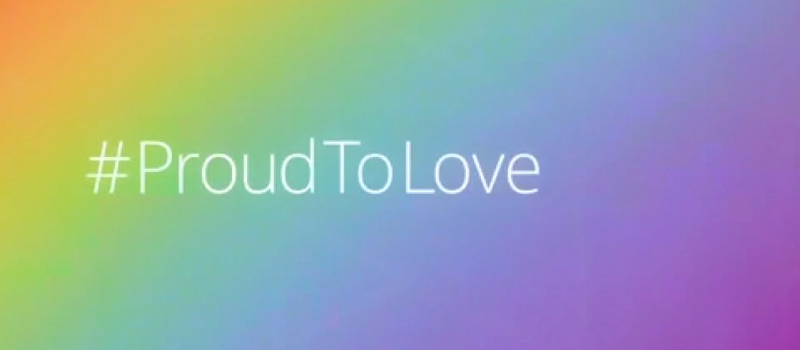 #ProudToLove - Celebrating Marriage Equality and LGBT Pride Month