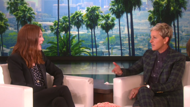 The Ellen Show - Julianne Moore Talks 'Freeheld'
