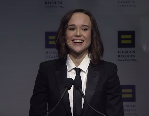 Ellen Page Receives the HRC Vanguard Award