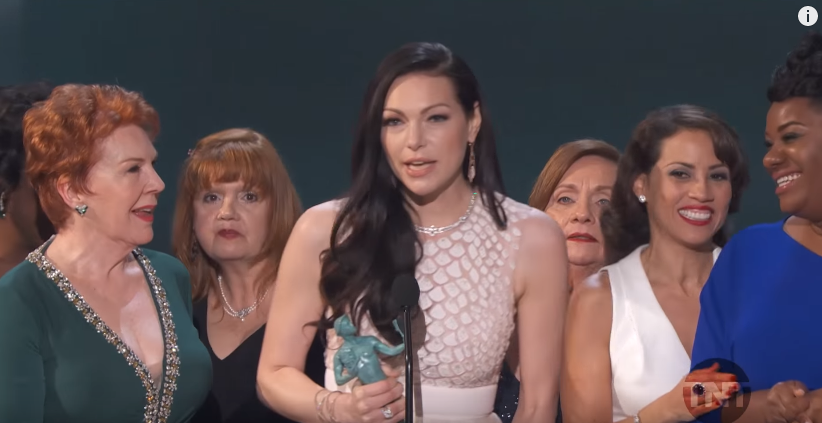 Orange is the New Black Cast Acceptance Speech I 22nd SAG Awards