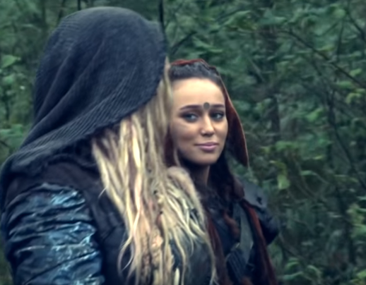 Clarke & Lexa (The 100) - Underneath The Night Sky