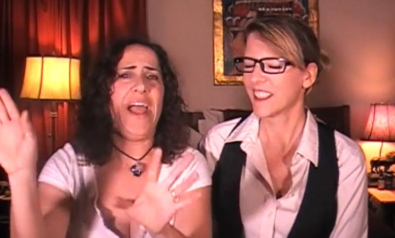 Robin and Lacie - High Lesbian History