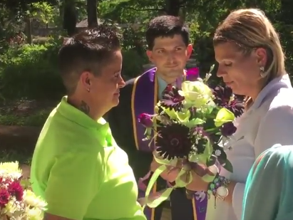 Carola Jean Osborn & Amy Jo Adams - Wedding Ceremony