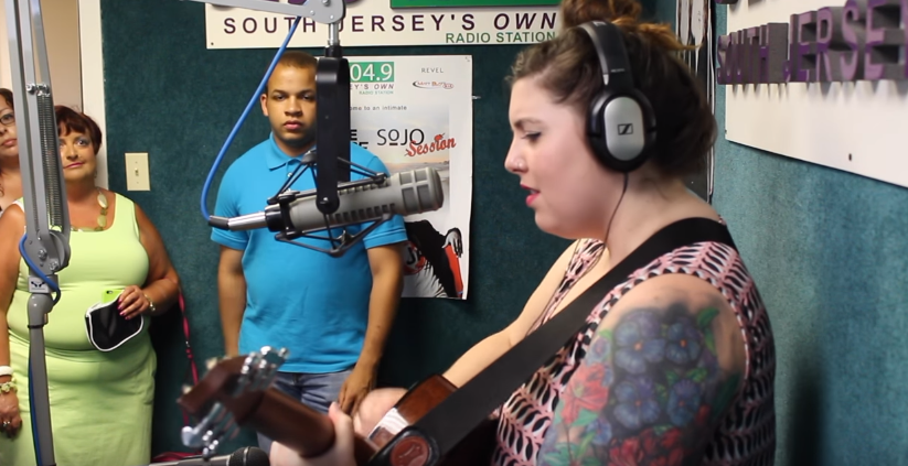 Mary Lambert Sings 'My Moon' for Fans Live in SoJO 104.9's Studio