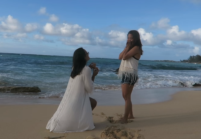 Lori and Melissa - Our Proposal Story