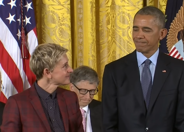 Ellen DeGeneres Receives Medal of Freedom Award