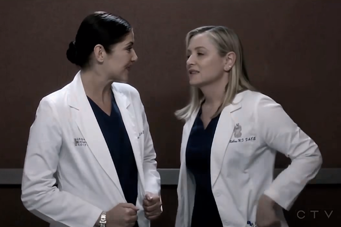 Arizona & Eliza (Grey's Anatomy) - Teenage Dream