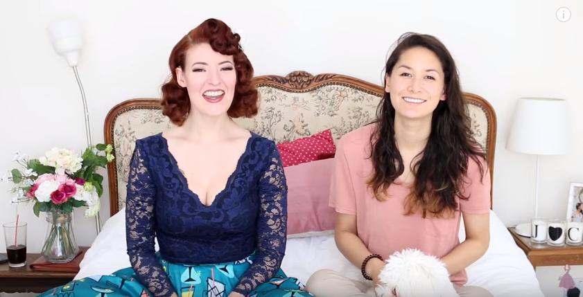 Jessica & Claudia - Lesbians Guessing Lesbian Slang (part 2)